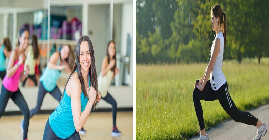 تمارين لانقاص الوزن مناسبة للنساء