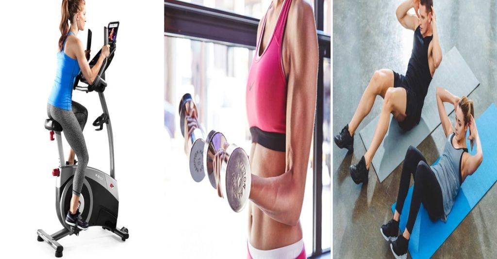 تمارين لانقاص الوزن وشد الجسم