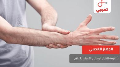 Photo of متلازمة النفق الرسغي الأسباب الأعراض وطرق العلاج