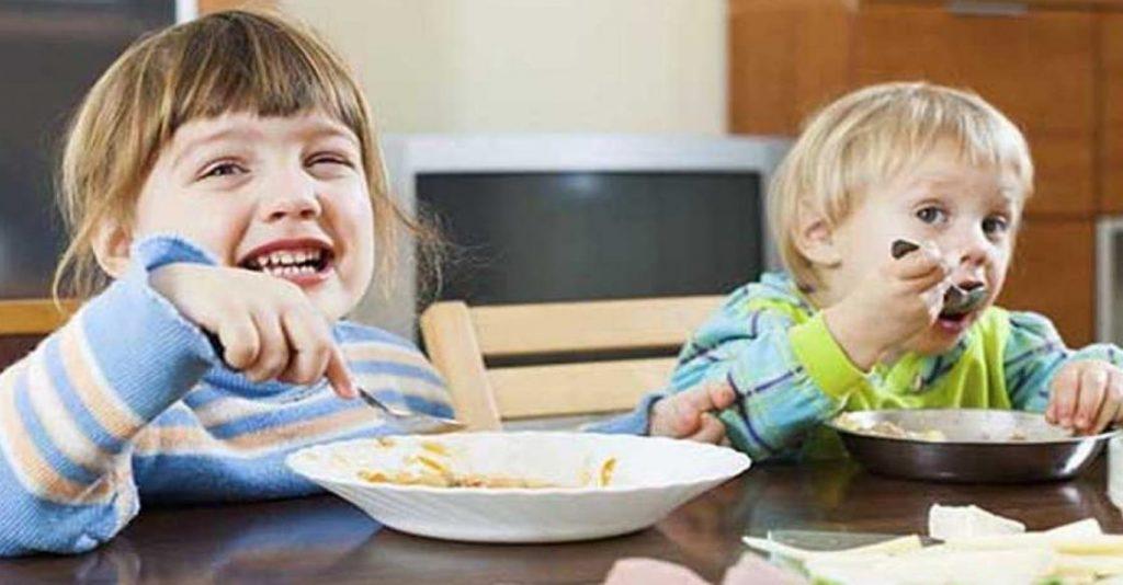 نصائح فتح الشهية للأطفال